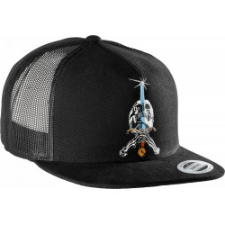 Powell Peralta Skull And Sword Trucker Cap - Noir