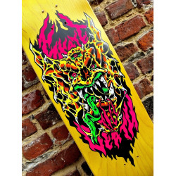 "Skate Till Death ""Gargoyle"" Skateboard deck - Screen printed"