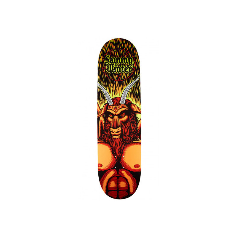 Cliche Satan Directional R7 Skateboard Deck - Sammy Winter - 8.625