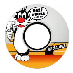 Haze Wheels Big Brauther skateboard wheels 85A/55mm - White