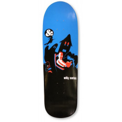"""PLATEAU DE SKATEBOARD G&S WILLY SANTOS """"SCARY DREAMS"""" RE-ISSUE 9.25"""