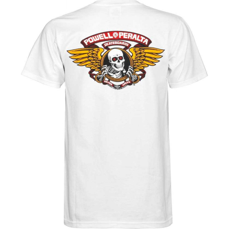 T-shirt Powell-Peralta™Winged Ripper White