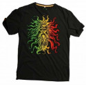 Santa Cruz T-Shirt Rasta God / Vintage Black
