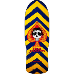 Skateboard Deck Powell Peralta Ray Rodriguez Skull and Sword Black