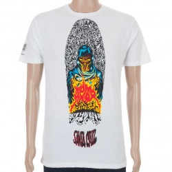 Santa Cruz T-Shirt Deck Series Tom Knox Fire Pit