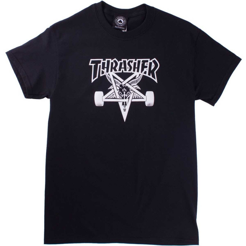 T-Shirt Thrasher Skate Goat Black