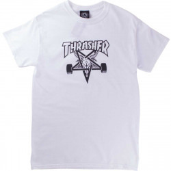 T-Shirt Thrasher Skate Goat White