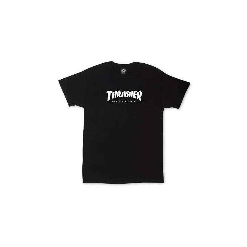 Toddler Thrasher Skate Mag T-Shirt Black (For Kids)