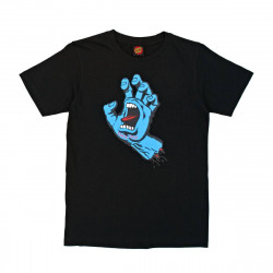 Santa Cruz T-Shirt Screaming Hand Black