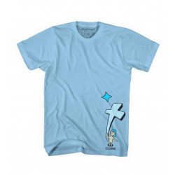 Light Blue, T-MAG KID AND CROSS