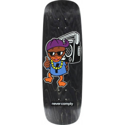 Skateboard Deck Street Plant Duck - Black