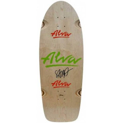 ALVA SKATEBOARDS SALBA LOST PRODUCTION MODEL SKATEBOARD DECK 11.0""