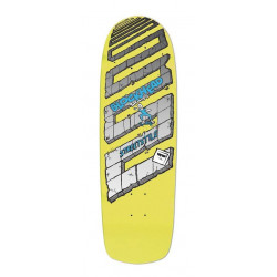 Skateboard Blockhead Streetstyle 2 - Yellow - Signed & numbered