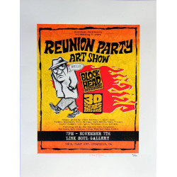 Blockhead 30 Year Reunion Party Posters
