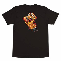 Santa Cruz Caballero 30th Anniversary Screaming Hand T-Shirt Black