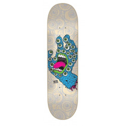 SANTA CRUZ SKATEBOARD 8.2IN X 31.69IN FOS HAND DECK