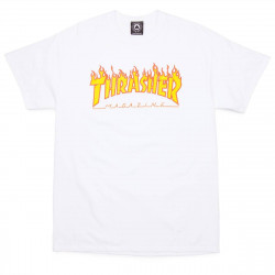 T-Shirt Thrasher Flame Charcoal