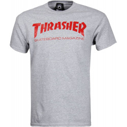 Thrasher Skate Mag T-Shirt Gris/rouge