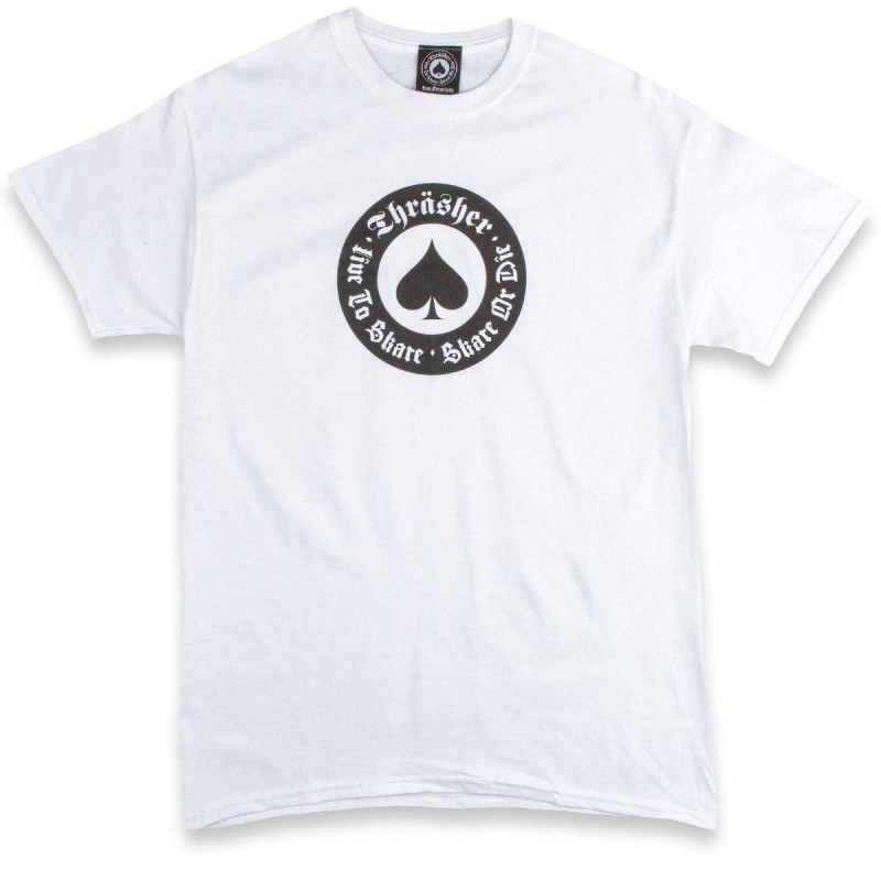 Thrasher Oath T-Shirt White