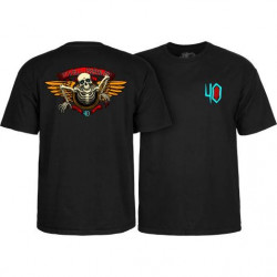 Powell Peralta 40th Anniversary Winged Ripper T-shirt Noir