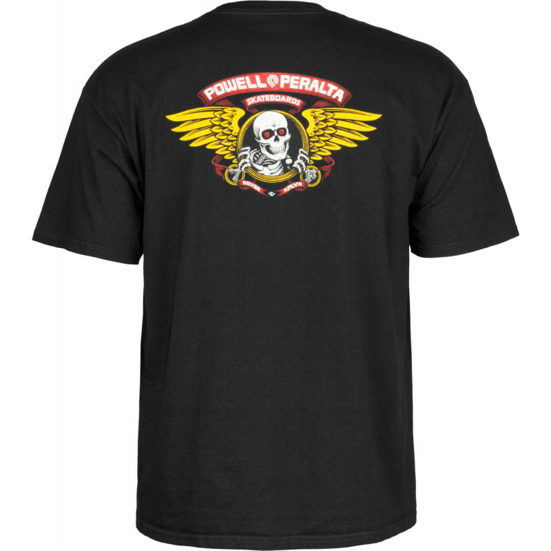 T-shirt Powell-Peralta™Winged Ripper Noir