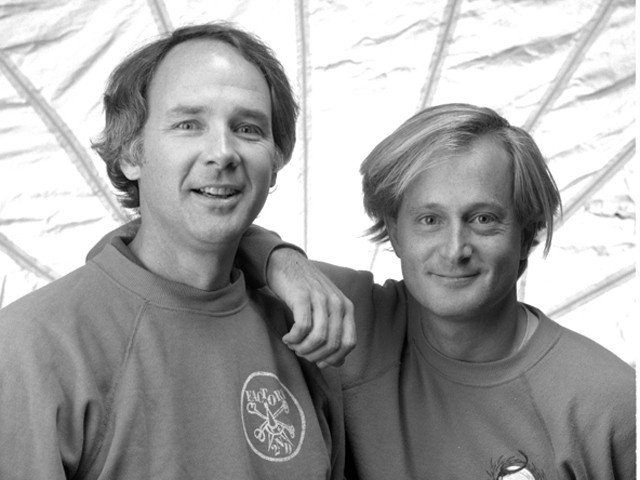 Georges Powell and Stacy Peralta